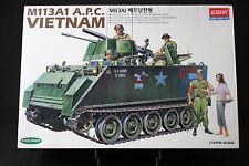 XJ063 ACADEMY 1/35 maquette tank char 1389 M113A1 APC Vietnam 1998