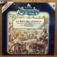 LA ZARZUELA 3 - LA ROSA DEL AZAFRAN - LP/VINILO -ESPAÑA- 1979 - (EX/NM -MB+/VG+)