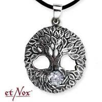 Echt etNox Lebensbaum Anhänger Silber Gothic Schmuck - NEU