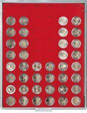 LINDNER Münzbox 2154 Standard für 2 Euro lose unverkapselte Münzen