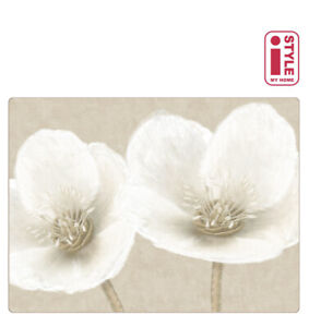 Set of 4 Placemats & Coasters Table Place Settings Mats Helleborus Floral