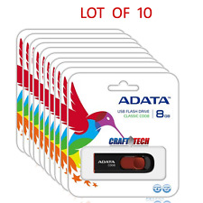 LOT OF 10 ADATA USB 2.0 16GB Flash Drive Retail Package wholesale