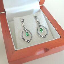 91de67b94 Drop/Dangle Simulated Sterling Silver Fine Earrings for sale | eBay