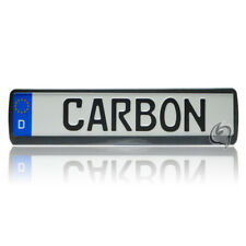 1x Carbon Kennzeichenhalter Opel Astra F+G+H+J 1991-2013+Kadett E Tuning NEU