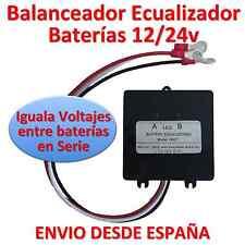 Balanceador/Ecualizador de Batería Solar de 24v con 2 Baterías 12v serie. España