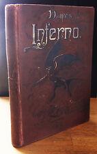DANTE'S INFERNO (1885) GUSTAVE DORE, ALIGHIERI'S VISION of HELL, RARE COLLIER ED