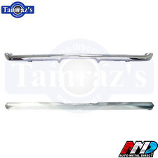 1969 Camaro Chrome Front & Rear Bumper Kit Triple Chrome New Tooling by AMD