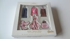 Hallmark Barbie Fashion Minis Miniature Collection 6 Ornaments NIB