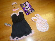 WOMENS S/M SEXY FRENCH MAID DRESS  FUN WORLD HALLOWEEN COSTUME HOT LADIES