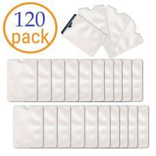 Wholesale 120 Pack Anti Theft RFID Blocking Credit Card ID Sleeve Protector