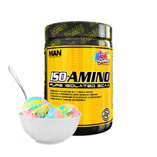 Man Sports ISO-Amino 30 Servings, Rainbow Sherbet - 255 Gram
