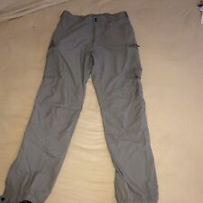 Patagonia Level 5 Softshell Pants Trousers Stretch Windproof Ankle Zip Large Reg