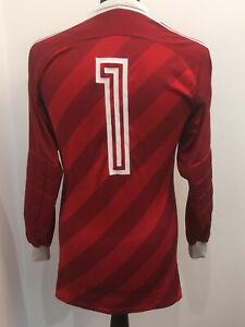 Adidas Vintage 70' #1 Torwart Trikot Goalkeeper Shirt Jersey (M) WEST GERMANY