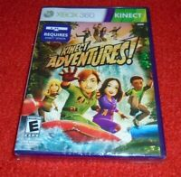 Kinect Adventures sealed Kinect Game your for XBOX 360 system NEW SEALED KIDS