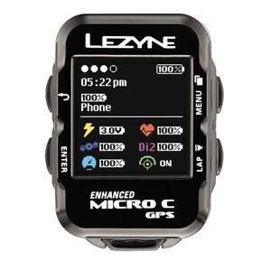Lezyne Micro C GPS navigation unit for cycling