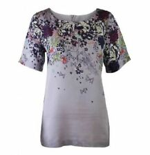 Hip Length Cotton Blend Casual Tops & Shirts for Women