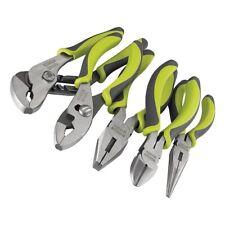 Craftsman Evolv 5 pc. Pliers Set Piece Nose Plier Tool Needle, NEW FREE SHIP