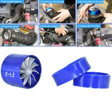 Universal Car Air Intake Fan Supercharger Engine Enhancer Turbo Gas Fuel Vortex