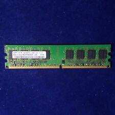 Samsung PC2-5300 / DDR2-667 / 1GB (1GB x 1) RAM DIMM non-ECC - M378T2953EZ3-CE6