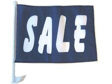 """12x18 Wholesale Lot 12 Sale Blue White Car Vehicle 12""""x18"""" Flag"""