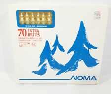 Vintage Noma Clear String-To-String Light Set Christmas Holiday 70 Extra Brites