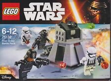 LEGO STAR WARS 75132 FIRST ORDER BATTLE PACK  4 minifigures New NIB Sealed