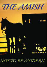 AMISH: NOT TO BE MODERN - DVD - Region Free - Sealed