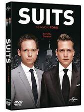 Dvd SUITS - Stagione 4 (Box 4 Dischi) Serie Tv ....NUOVO