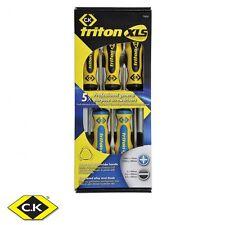 C.K Tools Triton XLS 5 Piece Screwdriver Set SL/PZ T4727