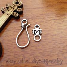 10pcs OT clasp Hook Charm Tibet silver diy jewelry Fit necklace Bracelet 7565