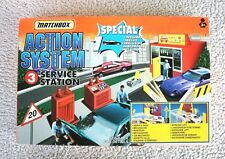 RARE MATCHBOX: SERVICE STATION (ACTION SYSTEM #3, 1996!). BRAND NEW, OLD STOCK!