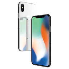 Apple iPhone X 256gb Silver Factory Unlocked