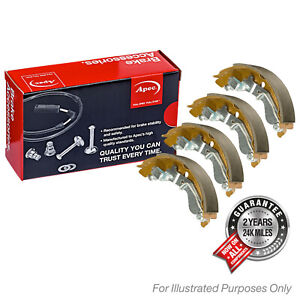 Fits Renault Clio MK4 1.5 dCi 90 Genuine OE Quality Apec Rear Brake Shoe Set