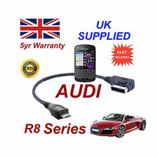 Audi R8 Series 4F0051510M Cable para Blackberry Q10 Micro USB de 30cm