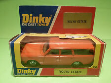 DINKY TOYS 122 VOLVO 265 DL ESTATE - ORANGE - RARE SELTEN - GOOD COND. IN BOX