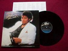 MICHAEL JACKSON- Thriller - 1982 Dutch Vinyl LP. EPC 85930  4A-1 6B-1 M-/VG