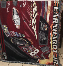 VGUC-VINTAGE-90s NASCAR Racing Dale Earnhardt Jr #8 Tapestry Throw Blanket