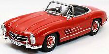 MINICHAMPS 180039041 Mercedes-Benz 300 SL Roadster 1957, rot 1:18 NEU/OVP