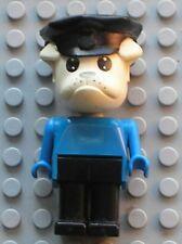 LEGO x581c02 Fabuland Personnage Figure Chien Bulldog Police /Set 3643 3639 3664