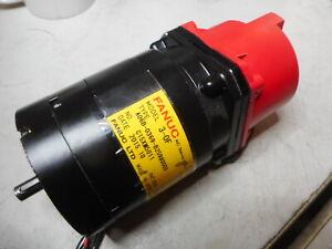 FANUC -- AC SERVO-MOTOR and SERIAL PULSE CODER 0.6Nm -- 3-0F -- A06B-0369-B259