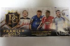 TOPPS 2016 PREMIER LEAGUE GOLD SOCCER TRADING CARDS HOBBY BOX SEALED NEW