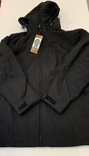 Weatherproof: Stretch Tech Black Hooded Zipper coat NEW Mens -- XXL -- BLACK