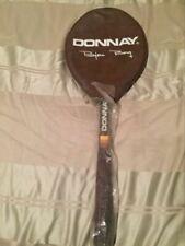 Vintage Donnay Bjorn Borg Tennis Racquet Light 4 w/ Original Leather Case & Grip