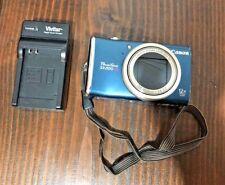 Canon PowerShot PowerShot SX200 IS 12.1MP Digital Camera - Blue