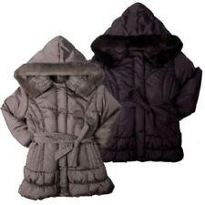 Mädchen-Jacken mit Kapuze und Pelz