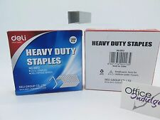 2 X 23/13 Heavy Duty Staples (1000/box) Deli 0013