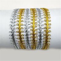Cosplay Costume Braided Ribbon Fabric Stage Decor Centipede Lace Trim