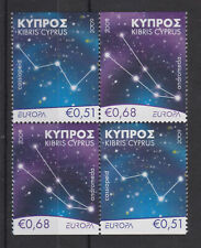 CYPRUS MNH STAMP SET 2009 EUROPA  ASTRONOMY CONSTELLATION SG 1188-1189 EX BOOKLE