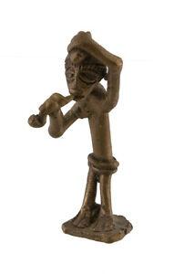 Statuette, Figur Afrikanisch aus Bronze, Alt-Lobi-Art 1081