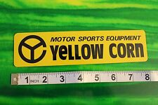 Yellow Corn Motor Sports Equipment Native Peace Vintage Racing Decal STICKER